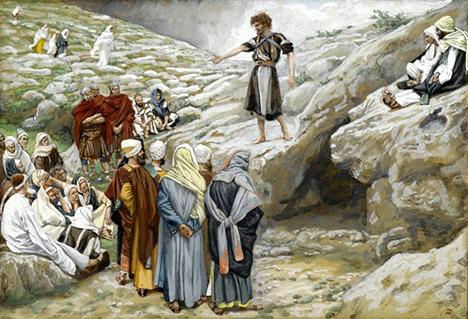 John and Pharisees-Tissot