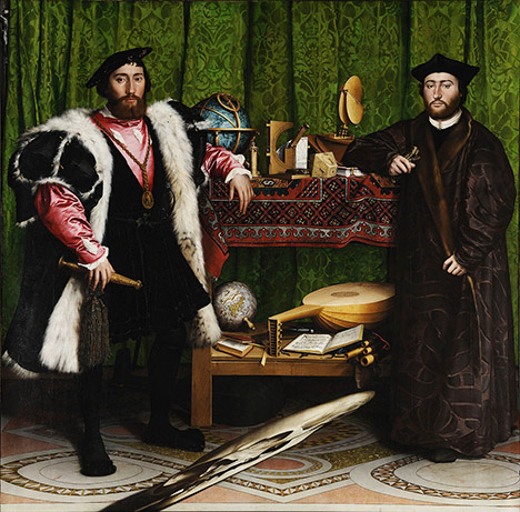 TheAmbassadors-Holbein