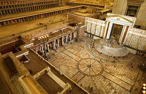 Herod Temple court