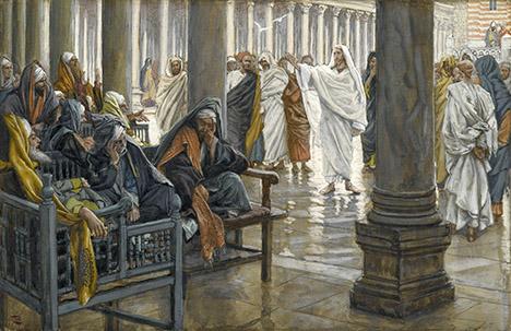 Woe to Pharisees-Tissot