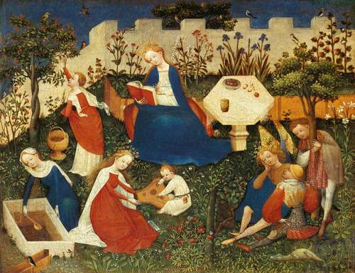 medieval-children-in-garden