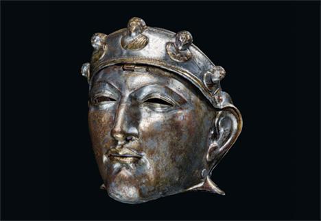 Roman iron mask