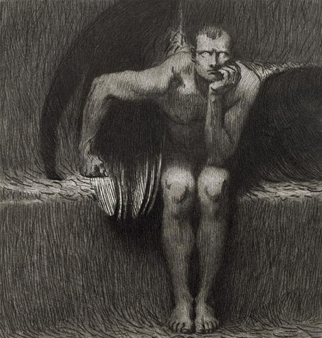 Lucifer-Franz Von Stuck