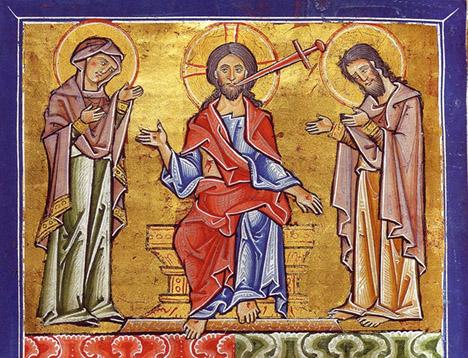 Jesus sword mouth Naumburg 1192
