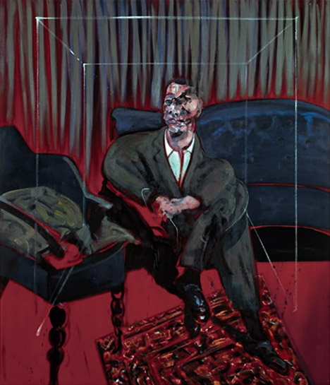Seated Figure - Francis Bacon